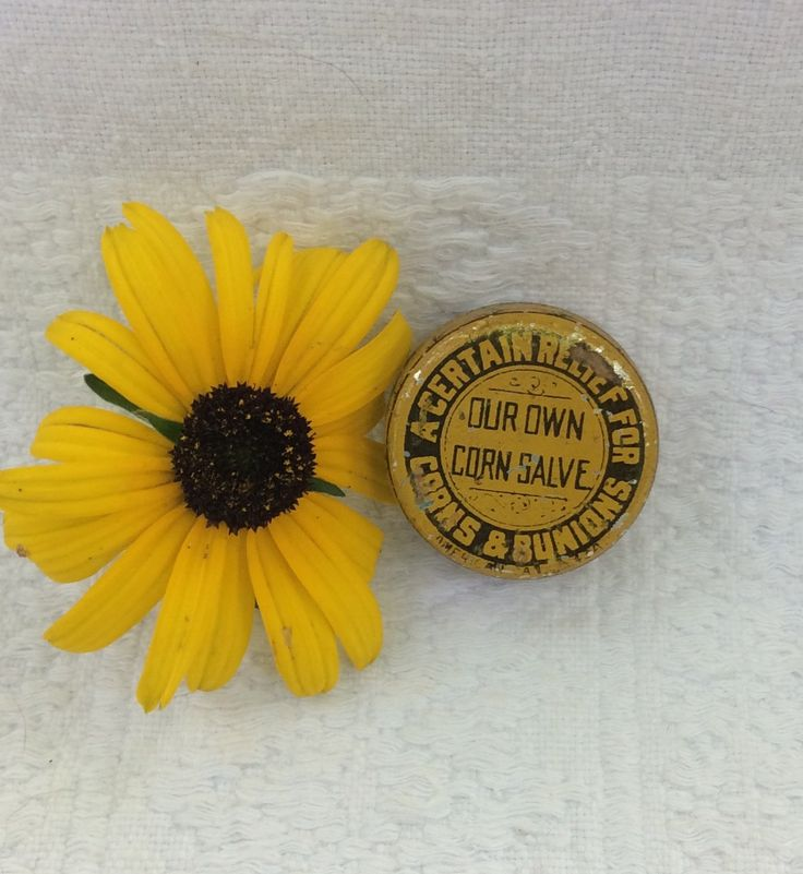 Rare Vintage Corn Salve Tin, Antique Medical Bunion Tin Farmhouse Medicine Cabinet by MargiesCoolStuff on Etsy