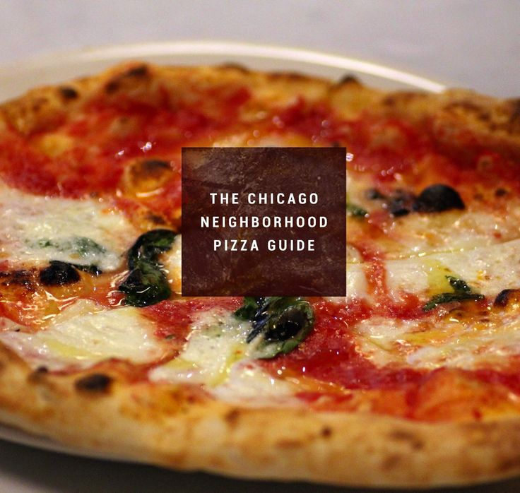 """Whoever said, """"Sex is like pizza: even when it's bad, it's still pretty good"""", probably wasn't taking into consideration sex with Ke$ha or how truly awful pizza can be. So to help ensure you never end up with another poor pie, we braved Chicago's vast marinara ocean to piece together this list of the best pizzas in 23 different neighborhoods."""