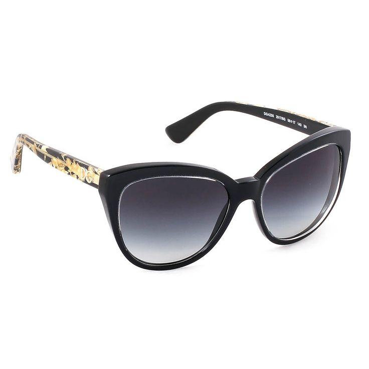Μοντέρνα, θηλυκά και με διάσημη υπογραφή, αυτά είναι τα γυαλιά ηλίου Dolce&Gabbana 4250 Gold Leaf Evolution. Σε σχήμα cat eyes και με μαύρο πλαίσιο τα γυαλιά ηλίου Dolce&Gabbana 4250 2917/8G Gold Leaf Evolution αποτελούν την πιο must επιλογή για τις γυναίκες που θέλουν να ξεχωρίζουν. #optofashion #sunglasses #DolceGabbana