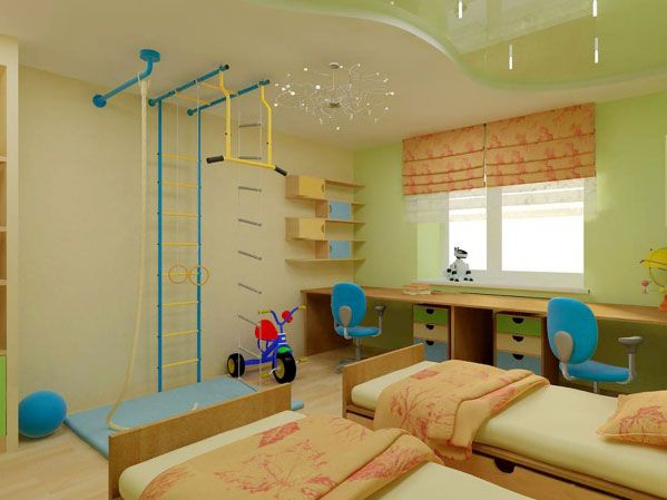 False ceiling designs for children bedroom design cuteness - Child bedroom decor ...