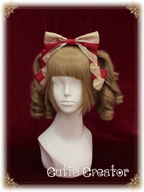 [Fairytale World]+金丝雀小姐+烫金缎带Lolita发箍 CutieCreator-淘宝网全球站