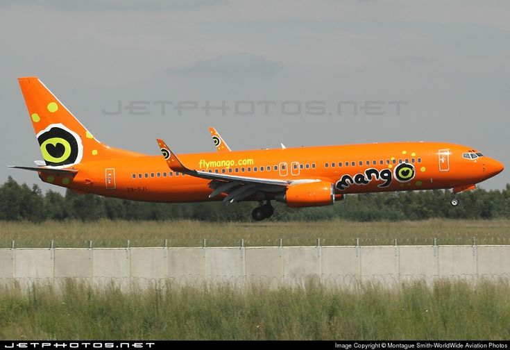 Mango Airlines (South Africa) Boeing 737-800