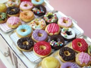 Donuts miniature - PetitPlat