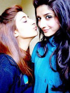Mawra Hocane and sister Urwa