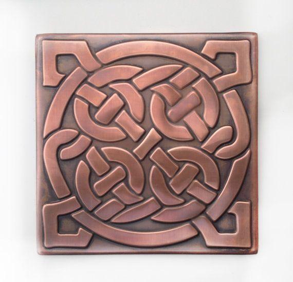 celtic tiles, celtic decor, celtic knot tile,