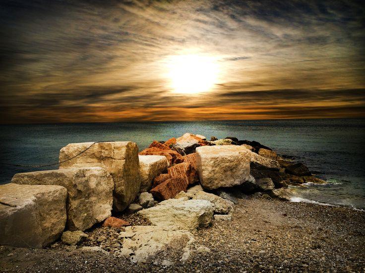 Seaside Sunset by Sara Canducci on 500px