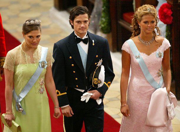 Принцесса Виктория, принц Карл Филипп и принцесса Мадлен
