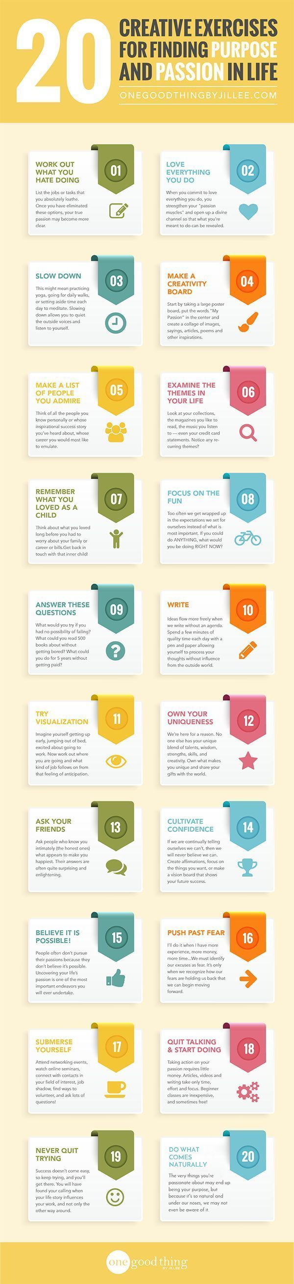 Psychology : 20 Creative Exercises for Finding Purpose and Passion in Life!