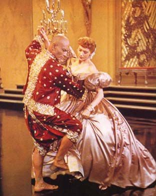 "The King and I!! And Yule Brenner. ""Shall we dance?""  My favorite scene in the whole movie!!!!"