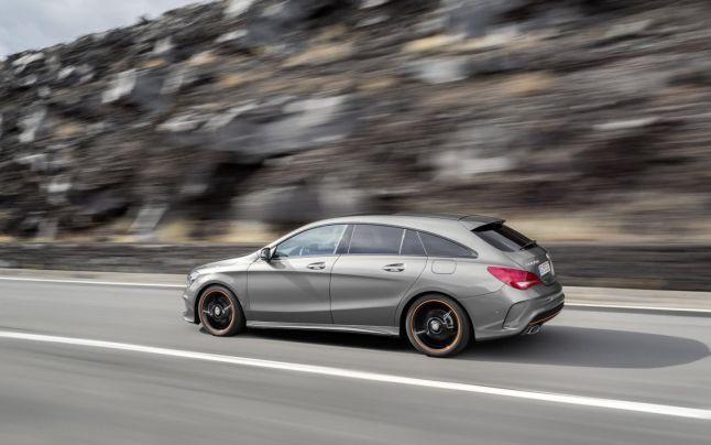 Primele poze oficiale cu #Mercedes-Benz CLA Shooting Brake: o maşină de familie cu foarte mult stil