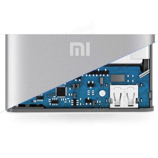 Original XIAOMI 5000mAh Ultra-thin 9.9mm Power Bank For Mobile Phone Sale-Banggood.com