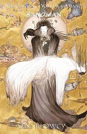 """""""Sandman: Senni łowcy (opowiadanie ilustrowane)"""", Scenariusz: Neil Gaiman, rysunek: Yoshitaka Amano. Dla dzieci i młodzieży. Nie jest to komiks z cyklu dla dorosłych - """"Sandman"""" Neila Gaimana."""