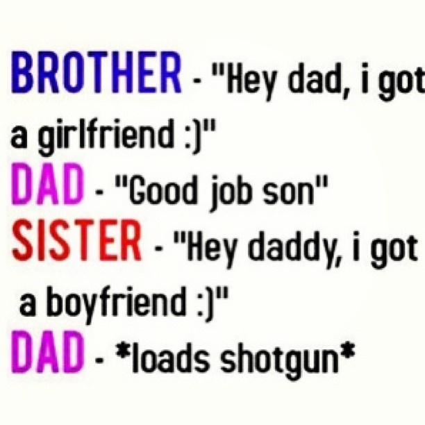 Dad son dating