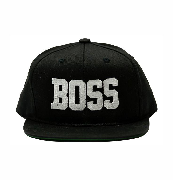 Boss Snapback Hat