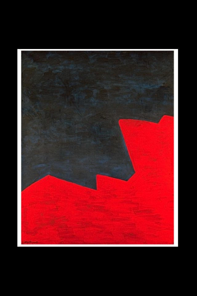 "Serge Poliakoff - ""Composition abstaite"", 1967 - Huile sur toile - 162 x 130 cm (*)"