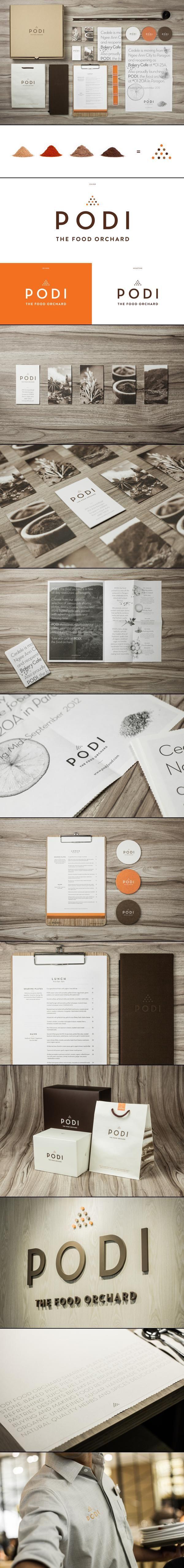 <> PODI | #stationary #corporate #design #corporatedesign #identity #branding #marketing < repinned by www.BlickeDeeler.de | Take a look at www.LogoGestaltung-Hamburg.de
