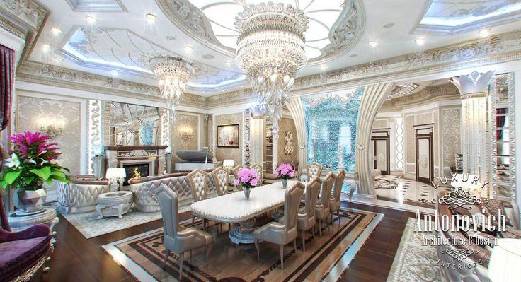 Beautiful Living Room Interior Design Uae Интерьер Pinterest And