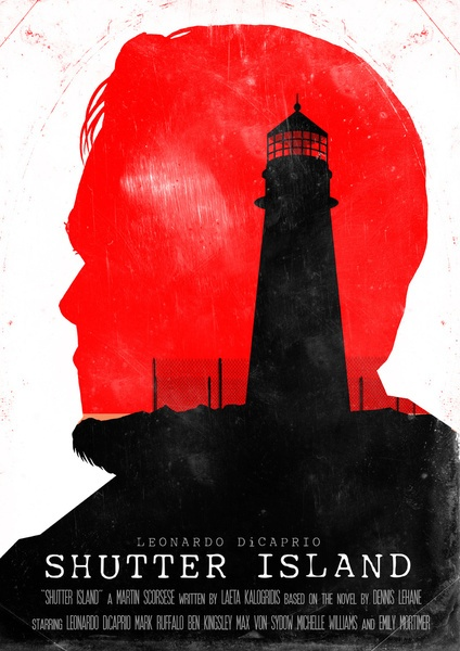 Shutter Island - Movie Poster by Joel Amat Güell