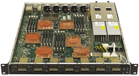 Front View - mQuad Broadcom XLR 732 Rackmount server