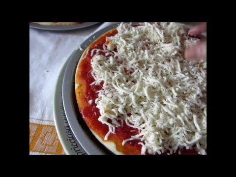 Pizza al latte con doppia mozzarella!!! Ricetta fa - YouTube
