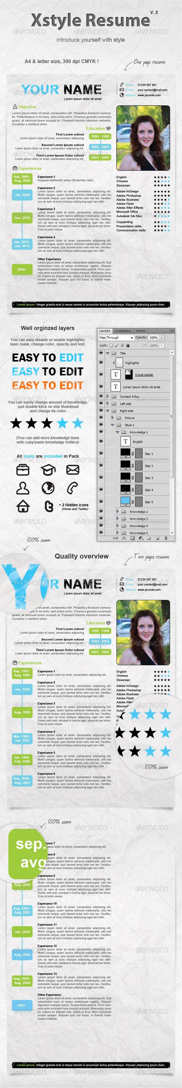 25 free creative resume templates - Artsy Resume Templates