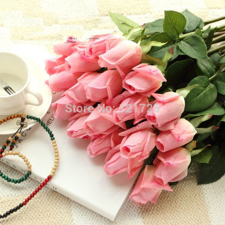 Fresh rose Artificial Flowers real Touch rose Flowers, Home decorations for Wedding Party or Birthday