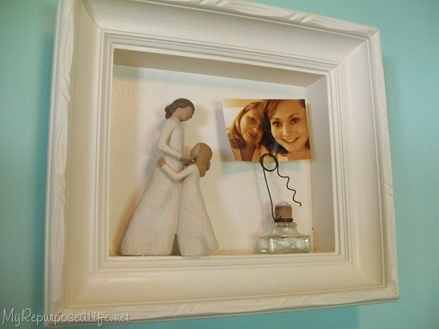 this shadowbox contains a willow tree figure how much more significant these items are when