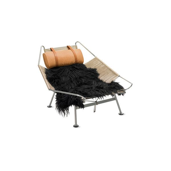 Flag Halyard Chair c.1950 by Hans Wegner ❤ liked on Polyvore featuring furniture, home and chair