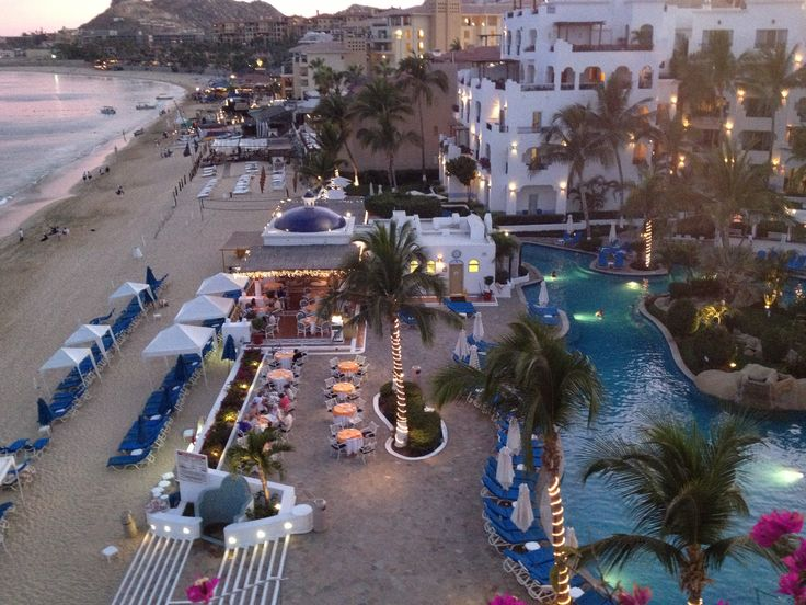 Cabo sunset from 401 Blanco penthouse balcony