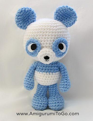 Amigurumi Freely To Go : Pandas, Crochet patterns and Animals on Pinterest