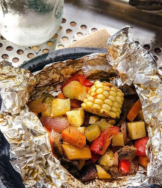 Veggie Foil Packs (Picture: www.veganyackattack.com)