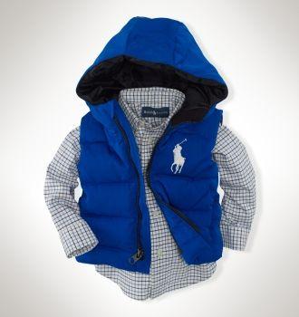 Big Pony Down Vest  Style #13143980