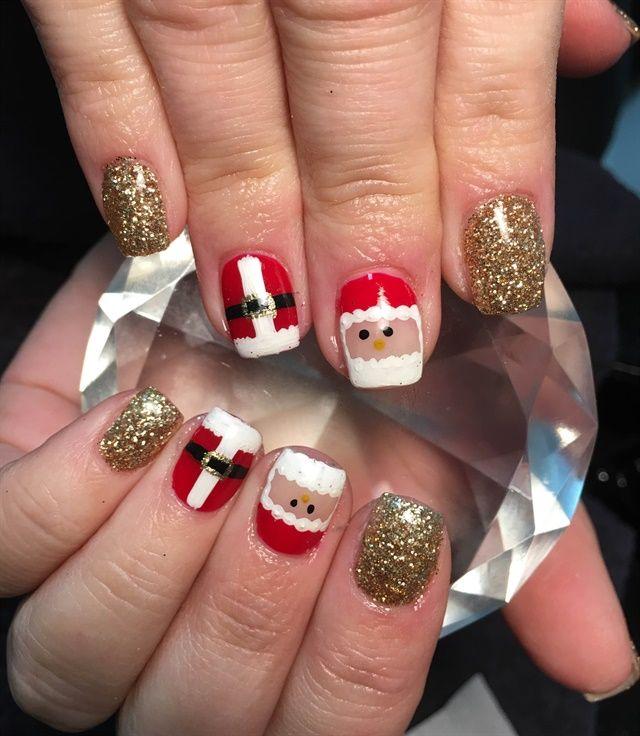 658 best Christmas Nail Art images on Pinterest ...