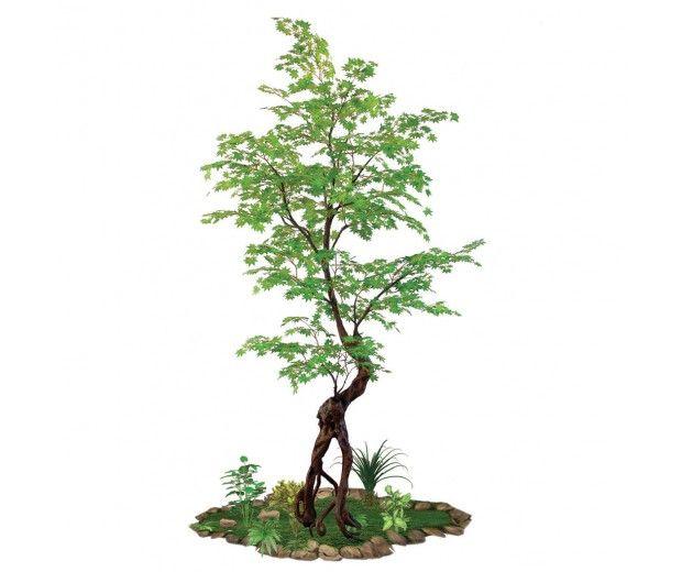 artificial maple tree indoors spacegreen