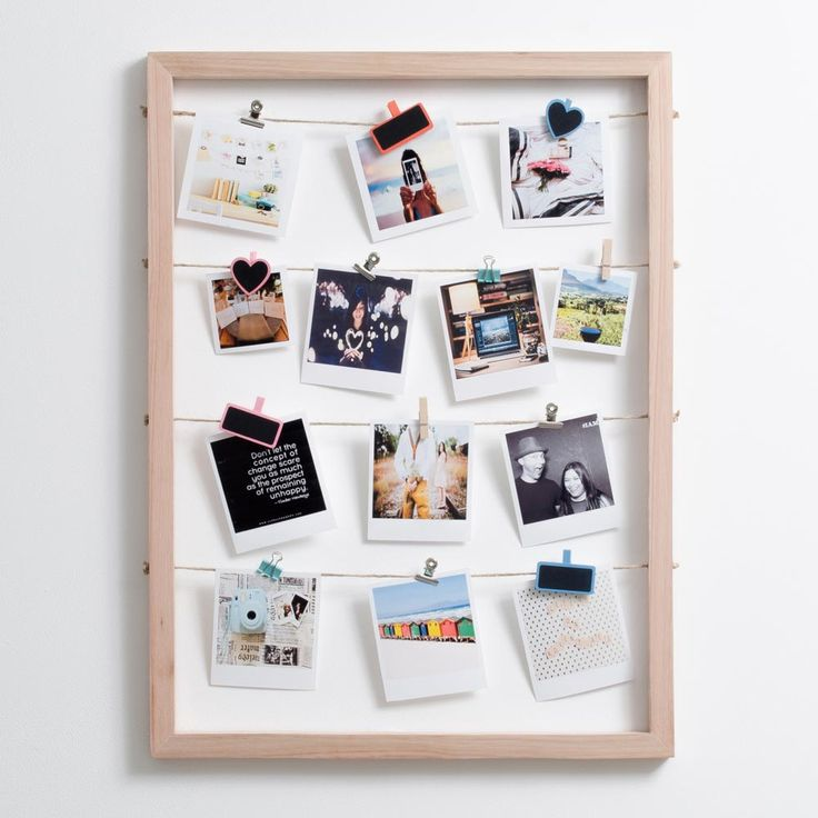 Timeframe's Large Floating Frame is the perfect way to show off your super cute snaps. This frame + your pics and our pegs = a stylish display of your memories.   This frame was made with rope and meranti.