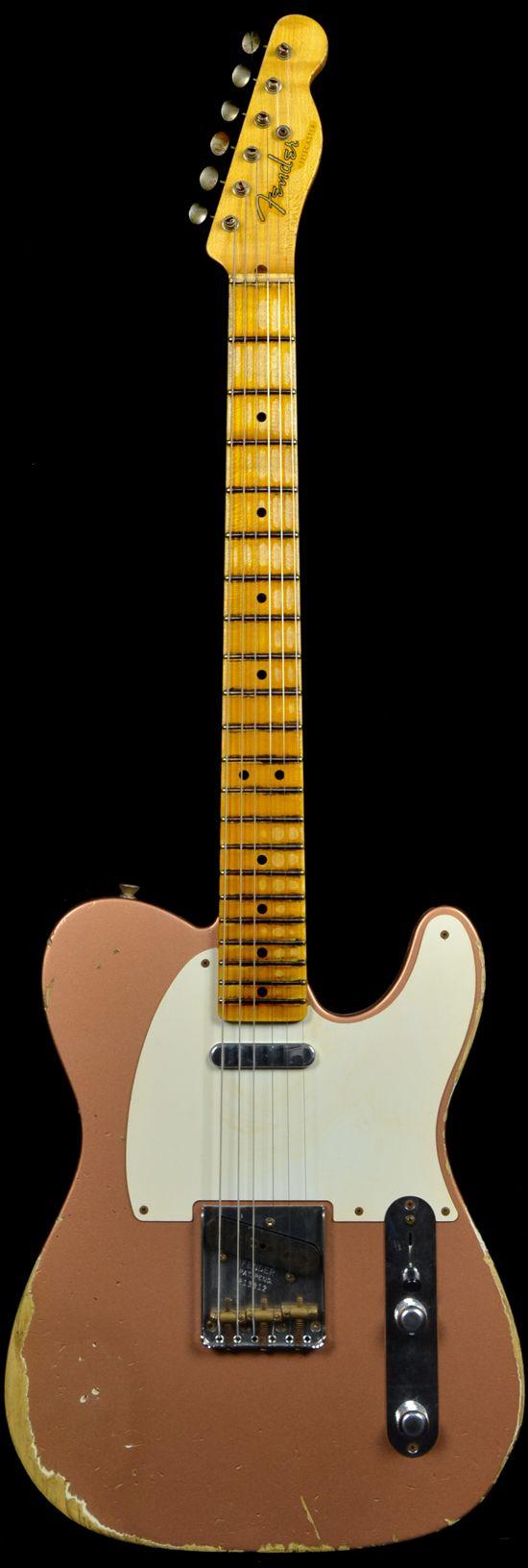 Vintage Fender 1952 Heavy Relic Telecaster Copper