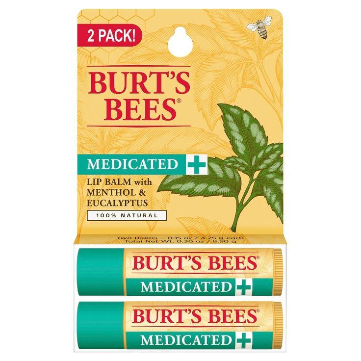 Burt's Bees Medicated Lip Balm .30 oz