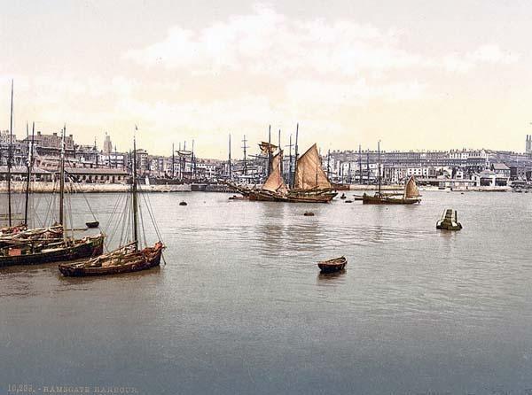 Harbor, II., Ramsgate, England between 1890 and 1900