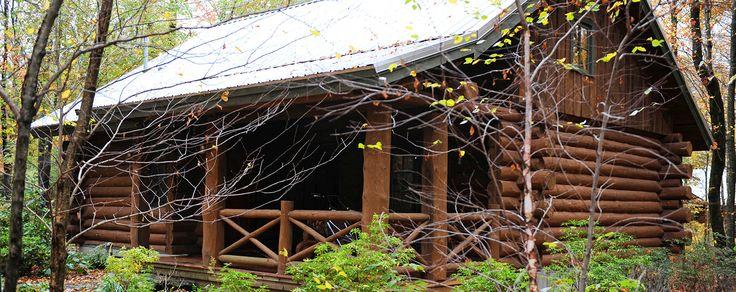 Rustic Log Cabin Resort Cottage in Connecticut - Log Cabin | Winvian