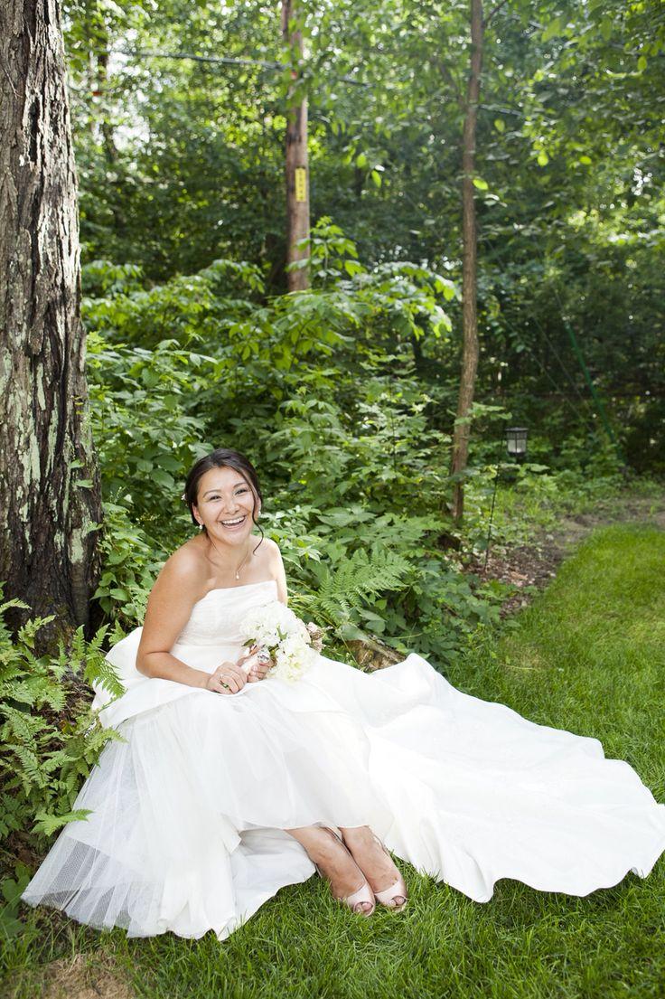 Backyard bride