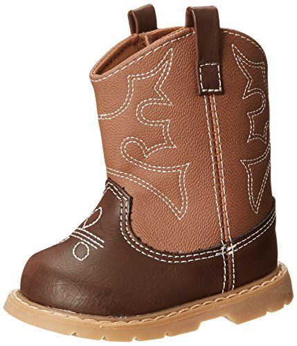 Natural Steps Chance Western Style Boot (Infant/Toddler/Little Kid),Brown Multi,3 M US Infant Natural Steps http://www.amazon.com/dp/B00KMTA4EQ/ref=cm_sw_r_pi_dp_2oUfvb14Z91TN