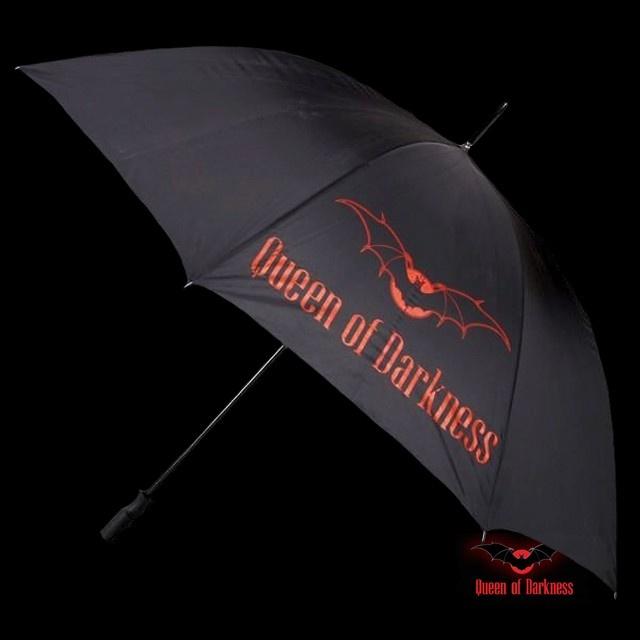Parapluie Noir 'Queen of Darkness'
