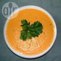 Recipe photo: Creamy Carrot and Ginger Soup