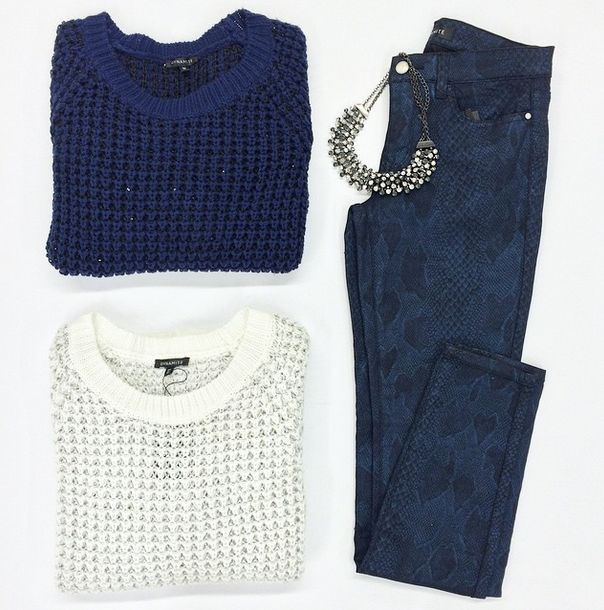 We're sure you won't resist these shiny sequin sweaters!