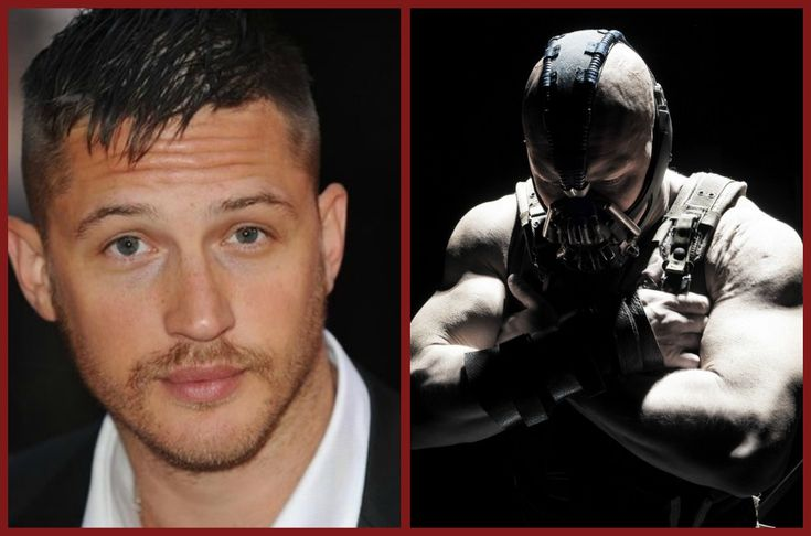 An insane transformation from Emperor Shinzon to Bane... Tom Hardy, you are a force to be reckoned with...
