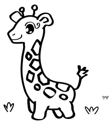giraffe ausmalbild 06  ausmalbilder ausmalbilder zum