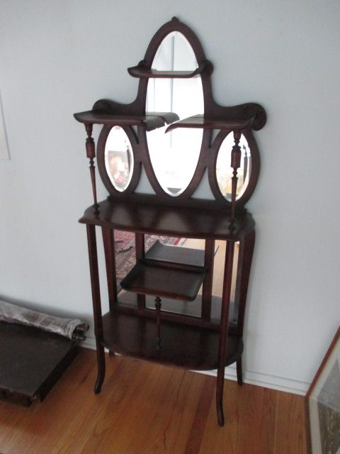 ANTIQUE MAHOGANY MIRRORED 5-TIER ÉTAGÈRE Estate sale from graceful Bell's Corners home – 70 Ridgefield Crescent, Ottawa ON. Sale will take place SUNDAY, May 24th 2015, from 9am to 2pm. Visit www.sellmystuffcanada.com for full sale description and photos of all available items! #70Ridgefield #SMSO