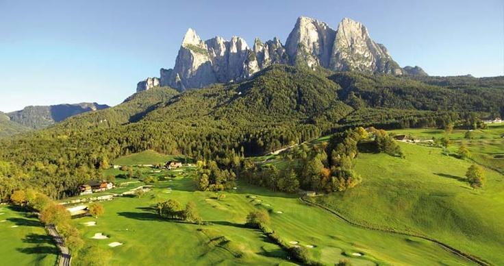 Campo da Golf in Alto Adige - Alpe di Siusi  (hotel Genziana)