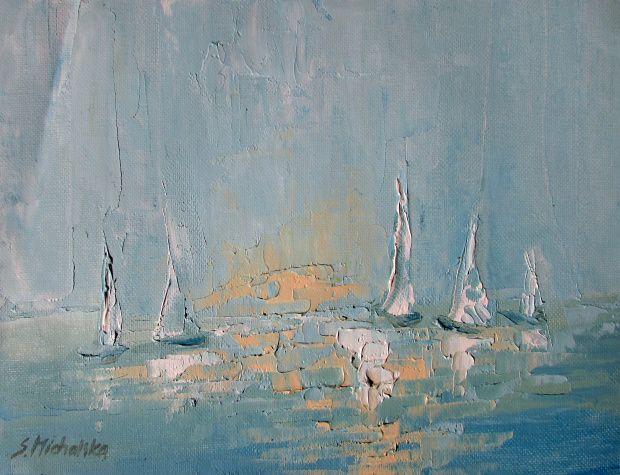 paintings by Sylwia Michalska