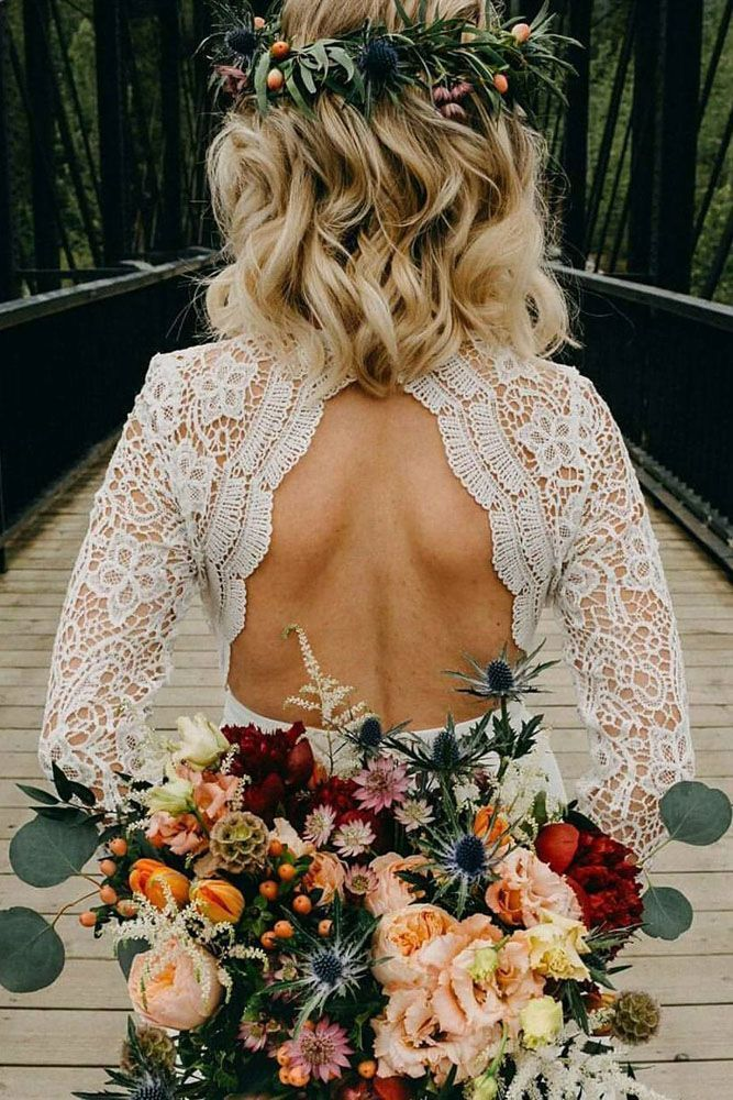 Must Take Photos Of Your Wedding Dress ❤️  #birde #weddingplanning #backlessdress #weddingdress #weddingwednesday